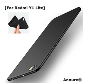 Annure Slim Back Cover Case For Redmi Y1 Lite - Black at rs.99