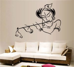 Decals Design 'Krishna' Wall Sticker