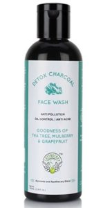 Greenberry Organics Detox Charcoal Face Wash with Tea Tree, 100ml at rs.150