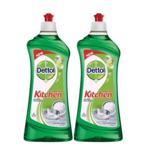 Grofers - Buy Dettol Lime Splash Dishwash Gel - Buy 1 Get 1 Free at Rs. 192