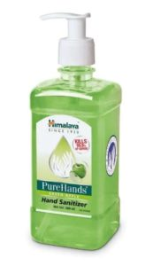 Himalaya Purehands Green Apple Hand Sanitizer 500Ml at rs.119