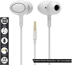 Marley Hudson Noise Cancelling in Ear Headphones at rs.99