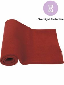 Mee Mee's Total Dry & Breathable Mattress Protector Mat (Light Maroon)