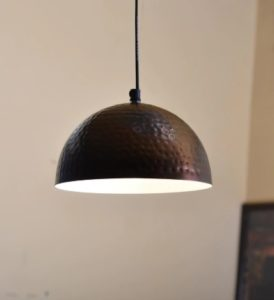 Pepperfry- Buy Copper Metal Hanging Light at Rs 329