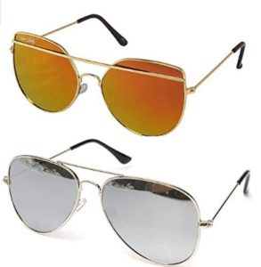 Silver Kartz Premium look exclusive sunglasses combo collection at rs.158