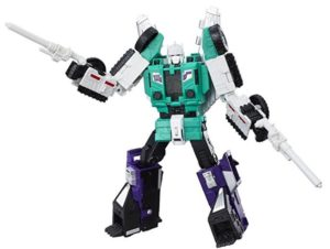 Transformers Generations Titans Return Leader Six Shot and Decepticon Revolver at rs.1599