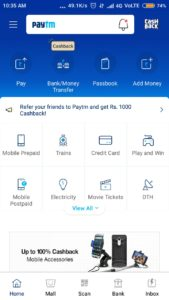 Paytm Refer n earn