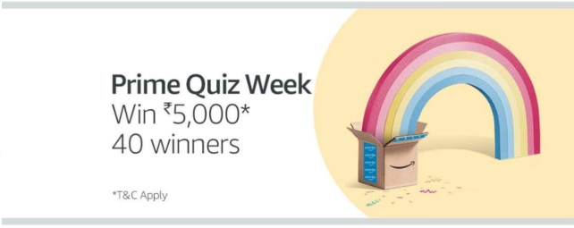amazon quiz week