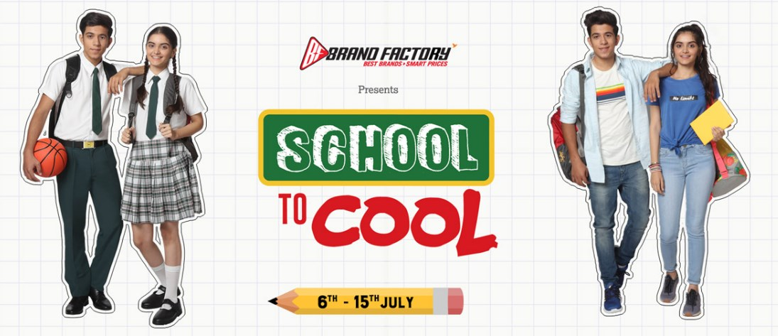 brandfactory school to cool