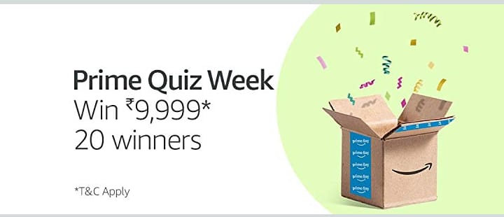 amazon prime quiz week