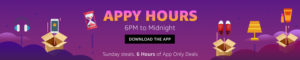 Amazon Appy Hours - Get Selected Products at Big Discount till Midnight (App Only)