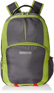 Amazon- Buy American Tourister 23 Ltrs Lime Green Laptop Bag at Rs 875