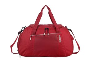 Amazon- Buy American Tourister Dunk Polyester 49 cms Red Travel Duffle at Rs 857