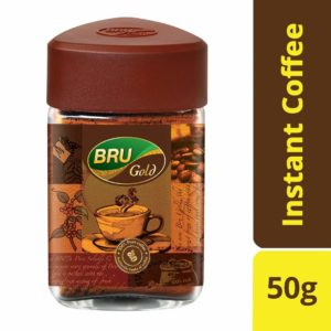 Amazon - Buy BRU Gold Instant Coffee, 50g at Rs. 119