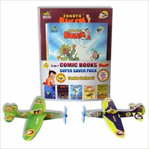 Amazon- Buy Combo - Chhota Bheem Comic Series .3 Paperback – 2014 at Rs 153