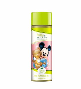 Amazon - Buy Disney Baby Bio Almond Oil Mickey Massage Oil (200ml) at Rs. 90
