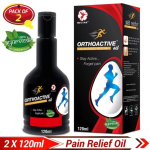 Amazon - Buy Dr Trust Orthoactive Pain Relief Oil - 120 ml (Pack of 2) at Rs. 249