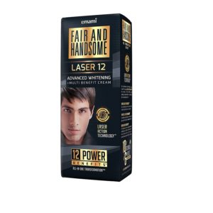 Amazon- Buy Fair & Handsome Laser 12 Advanced Whitening + Multi Benefit Cream, 30g at Rs 60