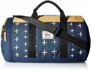 Amazon- Buy Gear Sport 21 ltrs Navy Blue and Beige Fresher Duffel NO. 1  at Rs 328