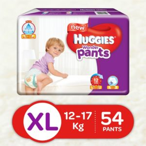 Amazon - Buy Huggies Wonder Pants Extra Large Size Diapers (54 Count) at Rs. 439
