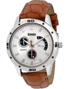 Amazon- Buy KIINDIA chronograph Multicolor Dial Men's Watch - 2010 at Rs 199