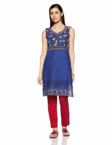 Amazon- Buy Karigari Women's Straight Kurta up to 80% off