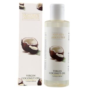 Amazon- Buy Nature's Absolutes Virgin Coconut Oil, 220ml at Rs 152