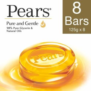 Amazon - Buy Pears Pure and Gentle Bathing Bar, 125 g (Pack of 8) at Rs. 376