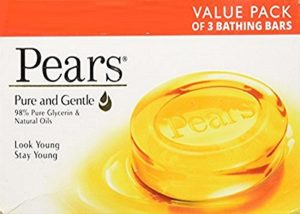 Amazon - Buy Pears Pure and Gentle Bathing Bar, 125g (Pack of 3) at Rs. 98
