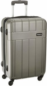 Amazon- Buy Pronto Breeza ABS 78 cms Grey Suitcases (6497 - GY) at Rs 3326