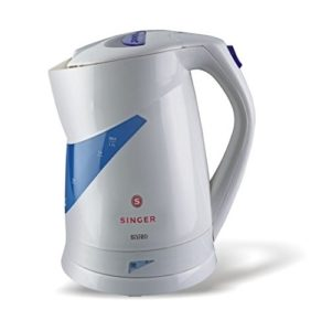Amazon - Buy Singer Bistro 1.7 litres 2000-watt Electric Kettle (White)  at Rs 1089