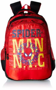 Amazon- Buy Spiderman N.Y.C. Red School Bag for Children of Age Group 8 +years at Rs 393