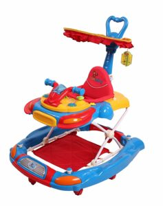 Amazon- Buy Sunbaby Funky Car Walker (Red) at Rs 2080