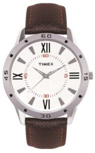 Amazon- Buy Timex Analog Off-White Dial Men's Watch at Rs 378
