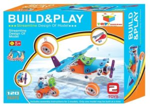 Amazon- Buy Toys Bhoomi 2 IN 1 Take-Apart 3D Model Airplane at Rs 599