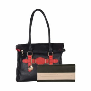 Amazon - Buy Venicce Women's Shoulder Bag Combo (Black) (VN147BLKCOM21) at Rs. 399