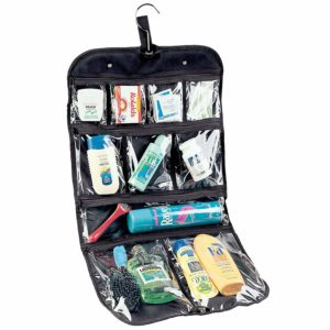 Amazon- Buy Vinyl Cosmetic and Grooming Travel Bag at Rs 347