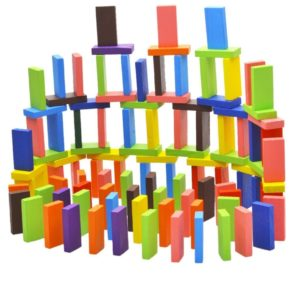 Amazon- Buy Webby Standard Authentic Wooden 12 Colors Building Blocks Set (120 Pieces) at Rs 399