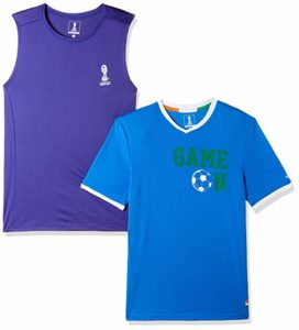 Amazon- Get flat 70% off on FIFA Men's Printed Slim Fit T-Shirt