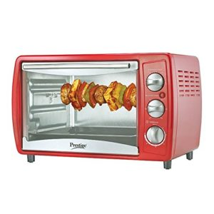 Amazon Prestige POTG 19L 41463 1380-Watt Oven Toaster Grill ,Red