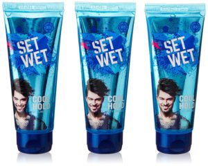 Amazon Set Wet Cool Hold Hair Cream, 100ml (Pack of 3)