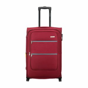 Aristocrat Polyester 42.5 cms Red Softsided Check-in Luggage