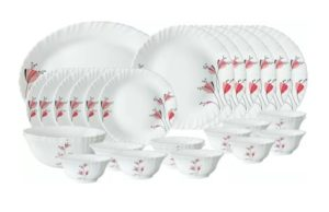 Borosil dinner set 40% off