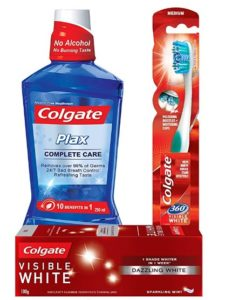 Colgate Visible White Sparkling Toothpaste combo at rs.106