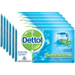 Dettol Cool - 125 g (Pack of 6)