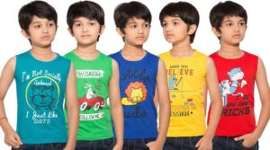 Flipkart- Buy Maniac Boys Printed T Shirt  (Multicolor, Pack of 5) at Rs 194