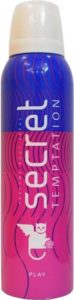 Flipkart- Buy Secret Temptation Play Deodorant Spray - For Women (150 ml) at Rs 94