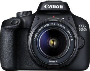 Flipkart Canon EOS 3000D DSLR Camera Single Kit with 18-55 lens