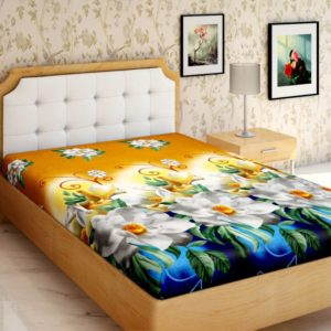 Flipkart Steal- Buy Bed sheets at upto 90% off, starting at just Rs 135