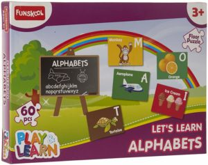 Funskool Alphabets Puzzles